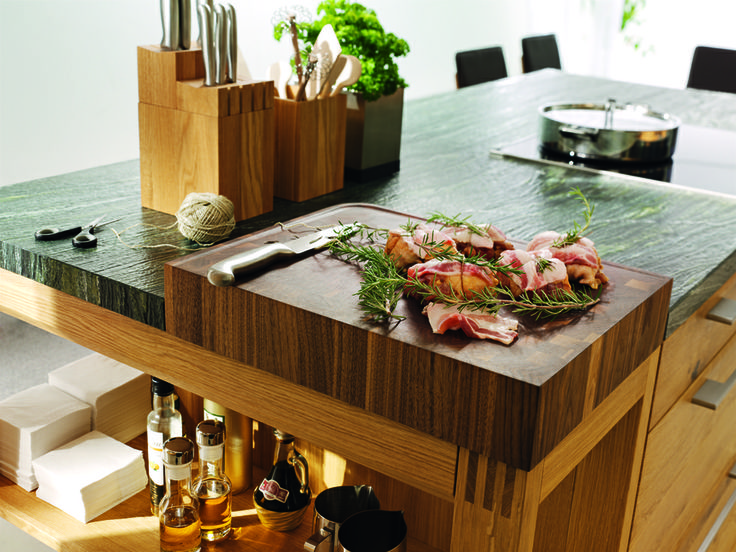 Küche Loft Holz: Wildeiche Natur Geölt