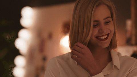 NRK P3 funny girl lol smile