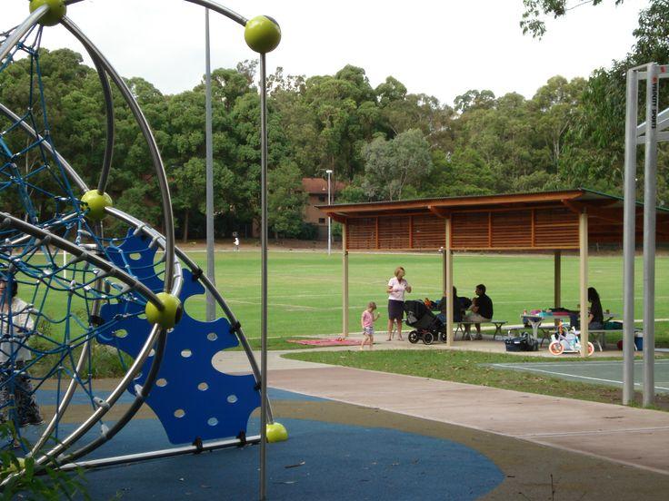 Waterloo Park & Kids Playground - Waterloo Road, Marsfield, NSW #Marsfield #Ryde #Park #Playground #Kids #CityofRyde #RydeLocal #Children
