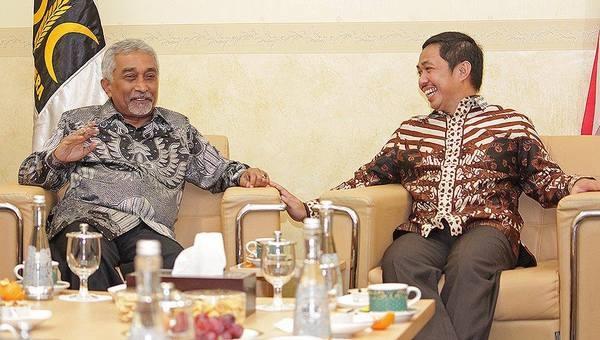 PKS TAKTAKAN: Temui Presiden PKS, Eks PM Timor Leste Alkatiri Belajar Toleransi