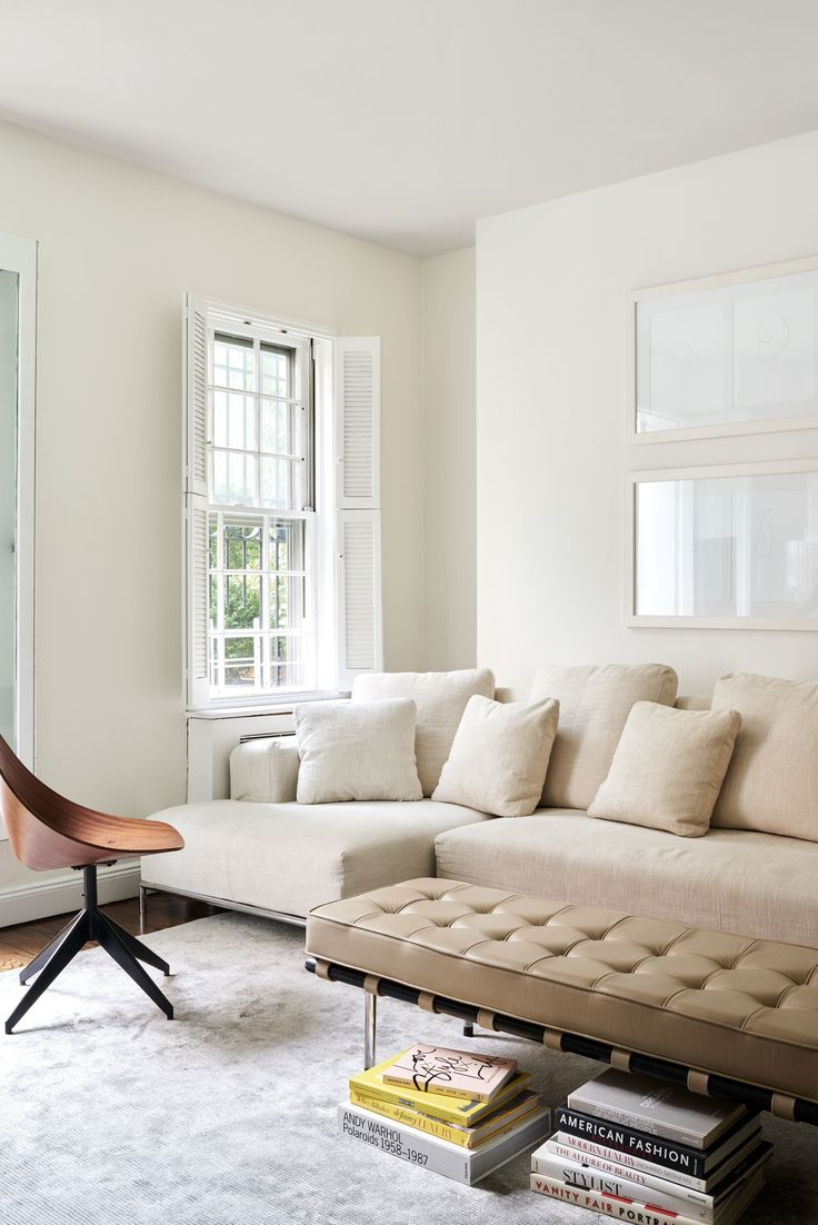 Cite sectional sofa and an RH rug,  vintage Vittorio Nobili chair.