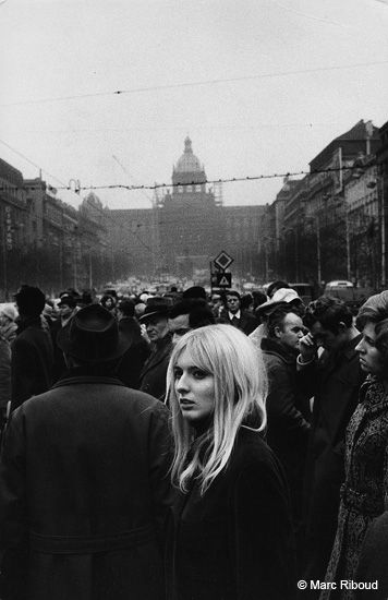 Prague, 1972, by Marc Riboud