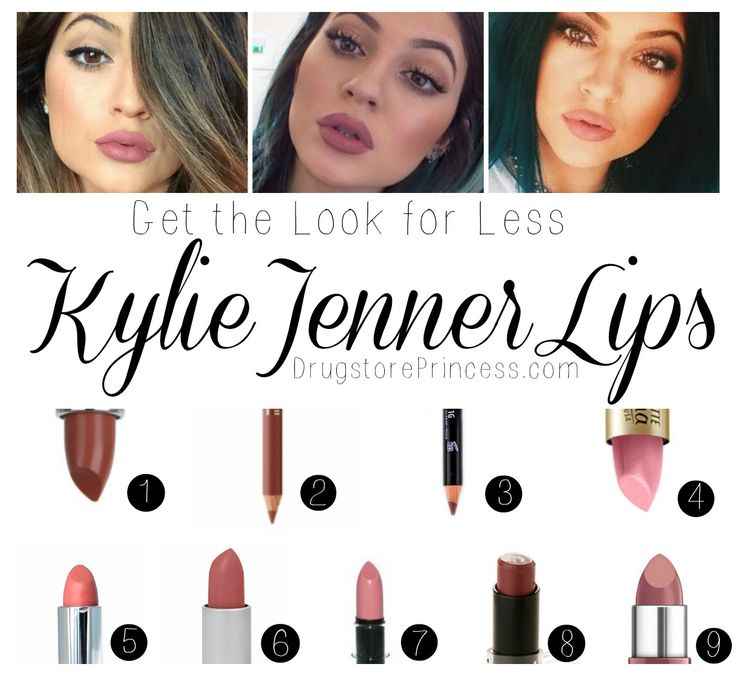 9 Kylie Jenner Lipsticks for amazing #makeup transformation