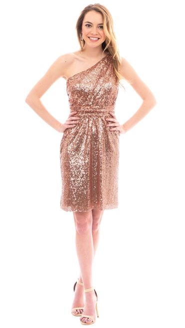 Gorgeous floor length rose gold and navy sequin dresses for your bridesmaids by Revelry! Shop trendy, affordable, designer quality bridesmaid dresses by Revelry - under $150. Try on bridesmaid dresses at home and enjoy free shipping on Sample Boxes. Swoon over our fashion-forward collection featuring convertible bridesmaid dresses and mix & match dresses in chiffon, tulle and sequins at ShopRevelry.com!