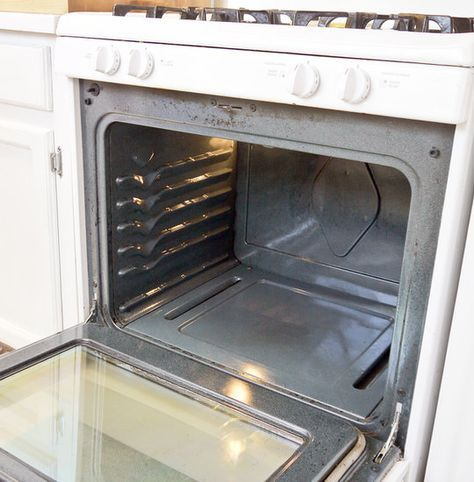 DIY natural oven cleaner for baked-on grime.