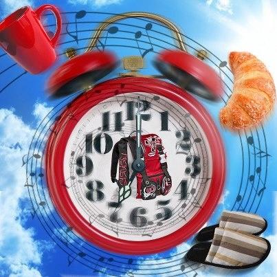 Yaaawn… che fatica alzarsi presto, vero? Colazione, musica e la giornata inizia meglio ;-)