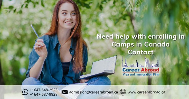 Students looking to study at #camp in #Canada get in touch with us For more information visit: http://www.careerabroad.ca/camps/