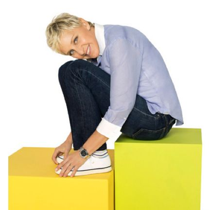Ellen DeGeneres is on Pinterest !