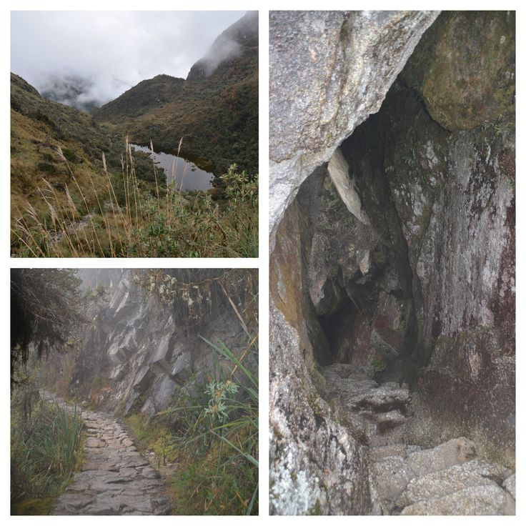 Incan tunnels and paths