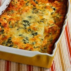 Recipe for Vegetarian Lasagna with Kale and Mushroom-Tomato Sauce [from KalynsKitchen.com]