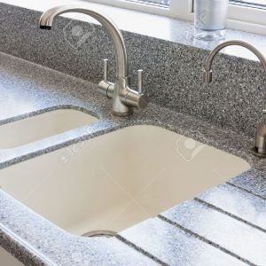 Sunken Ceramic Kitchen Sink