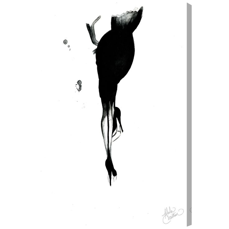 Oliver Gal 'Waiting by Talula Christian' Canvas Art