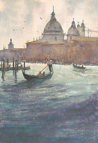 Keiko Tanabe ~ Santa Maria della Salute, Venice, Italy IV