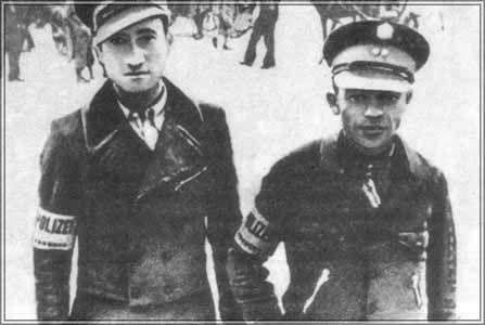 Żydzi, którzyzostawali agentami gestapo