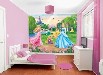 3D tapeta Disney Princess