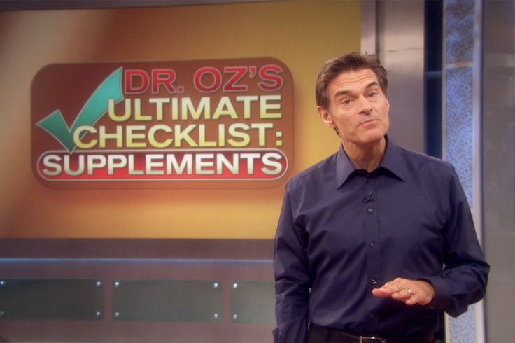 Dr. Oz's Ultimate Supplement Checklist, Pt. 1, Part 2. and Part 3 of the series.