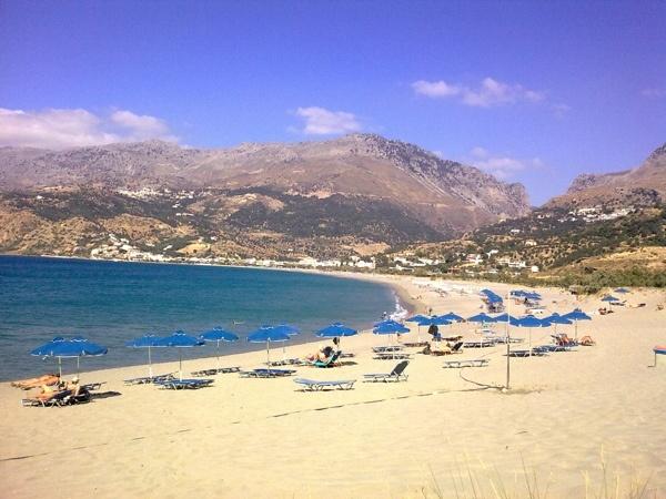 Kreta / Creta, Strand / Beach Plakias