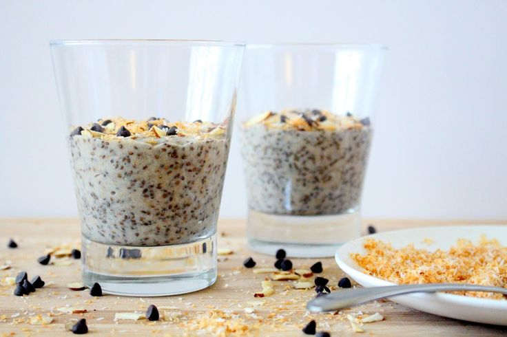 Toasted Coconut Chia Pudding | The Wheatless Kitchen
