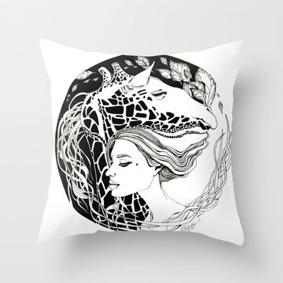 Fragile Throw Pillow by ioanazdralea - $20.00