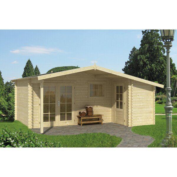 530 Cm X 450 Cm Gartenhaus Glen Gartenhaus Mit Terrasse Gartenhaus Gartenhaus Mit Veranda