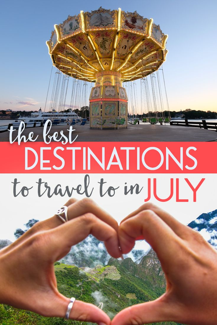 The trick with traveling in July is finding a place that is not too hot or overrun with crowds but that still provides ample opportunity for sun and sightseeing. If you have some free time, time off work, or that wanderlust itch… book a plane ticket for one of these amazing travel destinations. Here are some of the best destinations to travel to in July this year!
