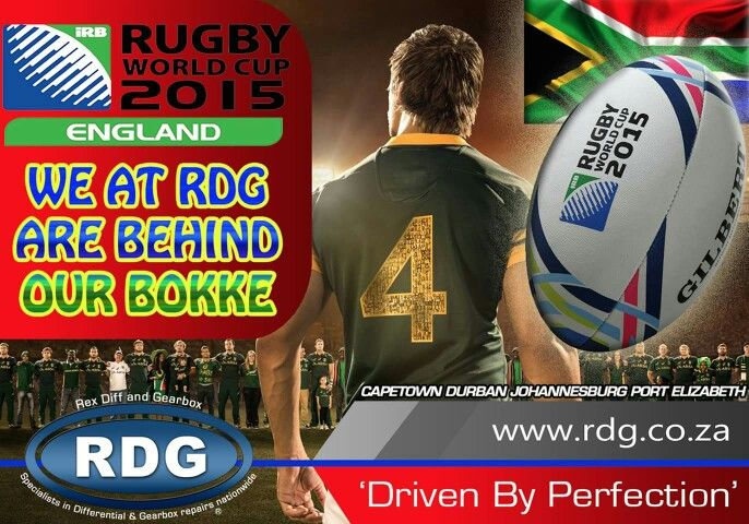 We at RDG are behind our Bokke!!!