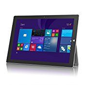 Microsoft Surface Pro 3 Tablet PC 12″ Full HD Display with Integrated Kickstand – 256 GB, Intel Core i5 (Certified Refurbished)