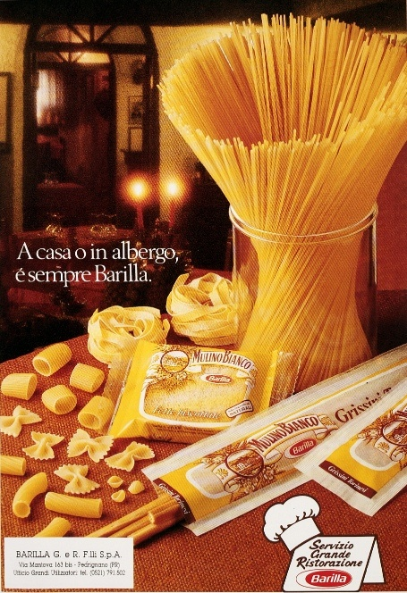 Barilla ad from 1985