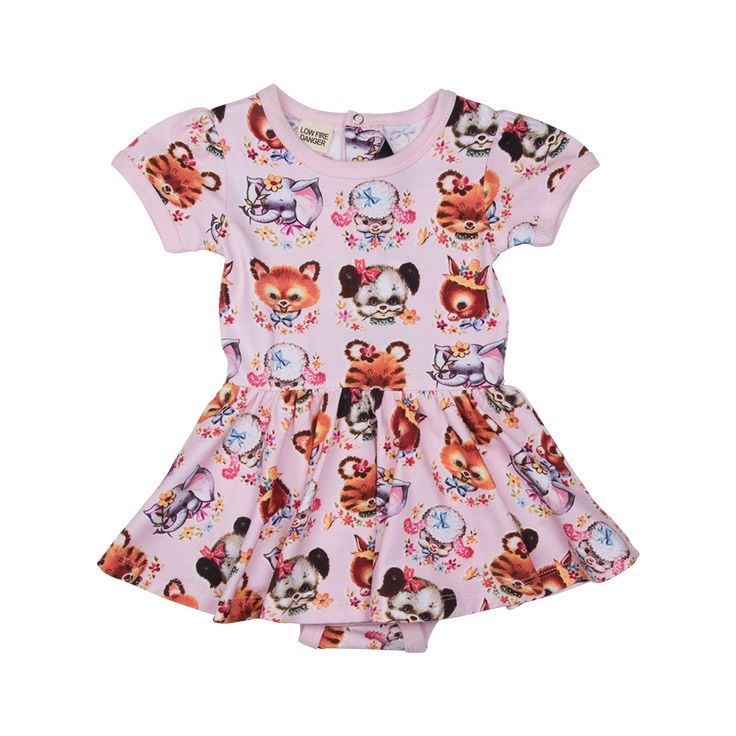 Rock Your Baby - Little Creatures Waisted Dress