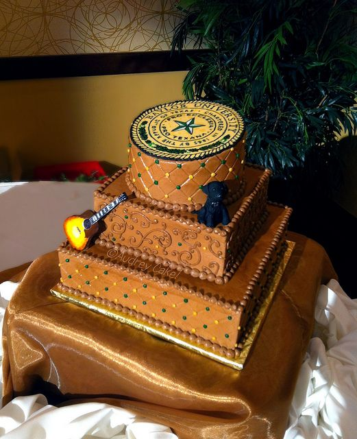 #Baylor University Grooms Cake!