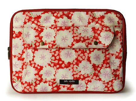 "Capa para laptop Kaori vermelho - MACBOOK PRO 13"""