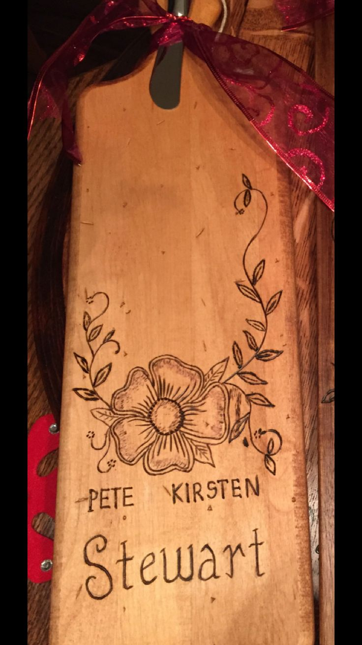 Personalized cheese board woodburning Dianakmillerinteriors