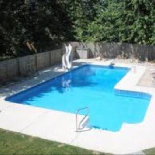 L Shape Pool Pools Pinterest