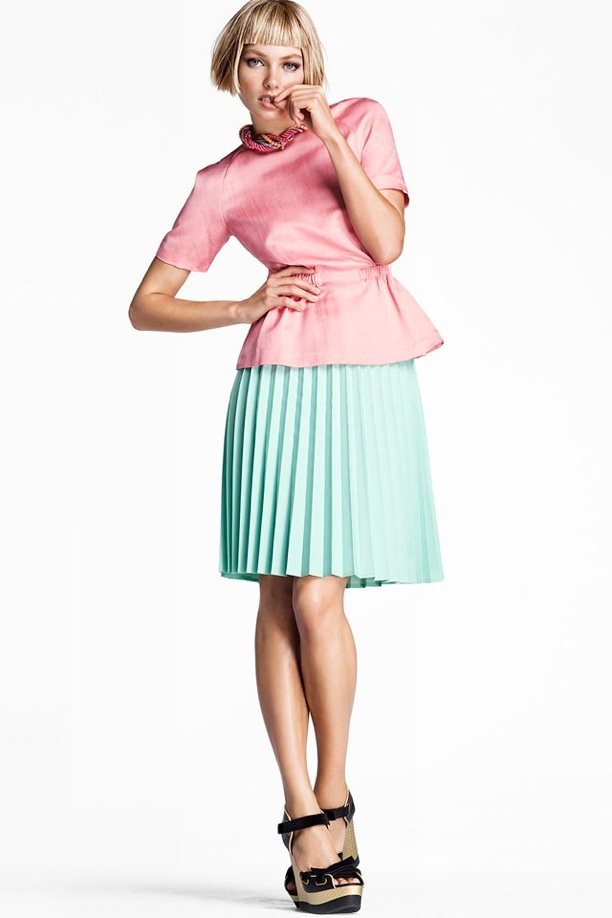 :: Pink & Mint ::: Trends, Pastel, Fashion, Skirts, Style, Color, Than, Jessica Hart