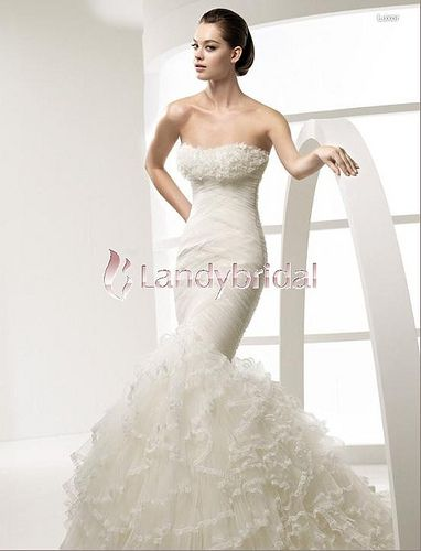 trumpet/mermaid wedding dress