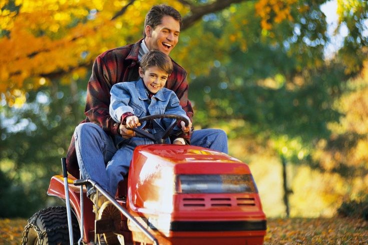 How to determine a lawn mowers tire tube size riding