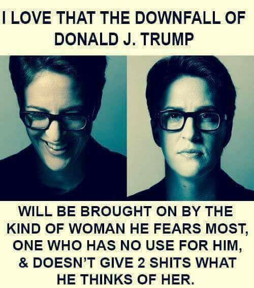 Rachel Maddow - Keep up the research!