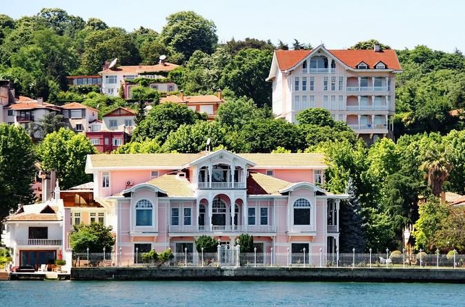 Afternoon Istanbul Bosphorus Cruise Tour with Spice Market Tour starts with a visit to the Egyptian Spice Bazaar before a cruise along the shores of Bosphorus, the waterway separating the two continents of Europe and Asia. You will have the chance to see the European style palaces of the Ottoman Empire and the palaces of Dolmabahce and Beylerbeyi, in striking contrast to some of the modern mansions that line up the shores of Istanbul.Tour starts with a visit to the Egyptian Sp...