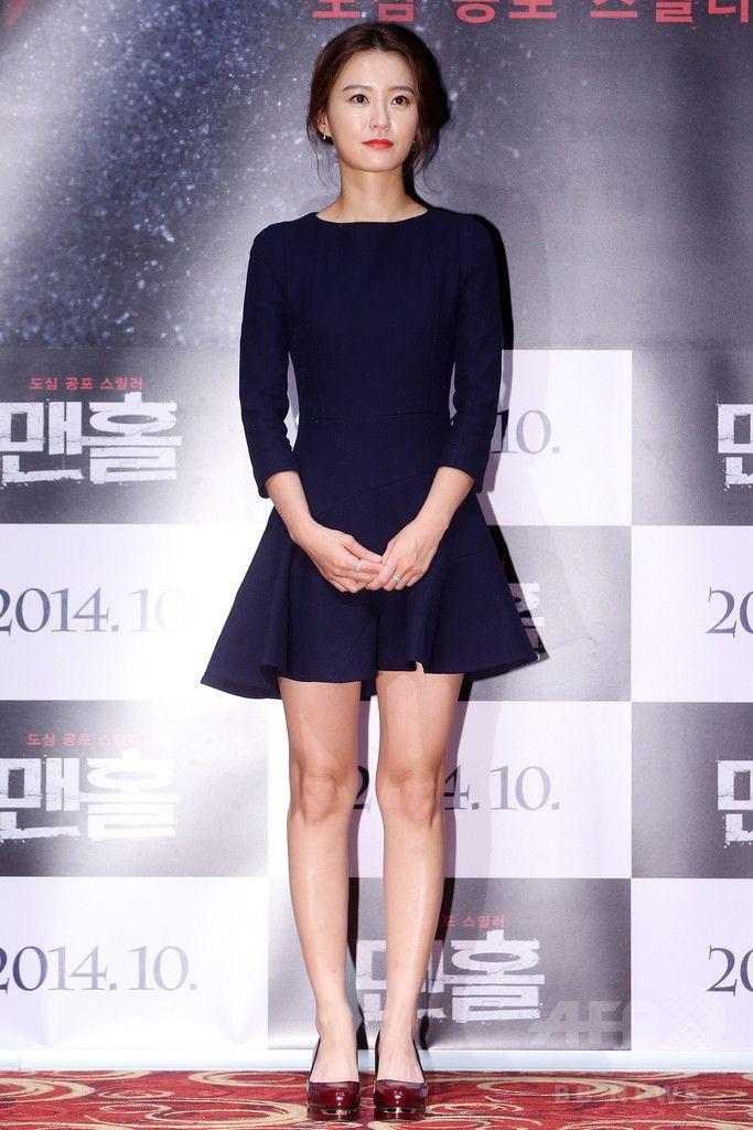 韓国・ソウル(Seoul)で行われた映画『マンホール』の制作発表会に臨む、女優のチョン・ユミ(Jung Yu-Mi、2014年9月3日撮影)。(c)STARNEWS ▼9Sep2014AFP 連続殺人犯と戦う姉妹を描いた映画『マンホール』、制作発表会 http://www.afpbb.com/articles/-/3025071 #Jung_Yu_Mi