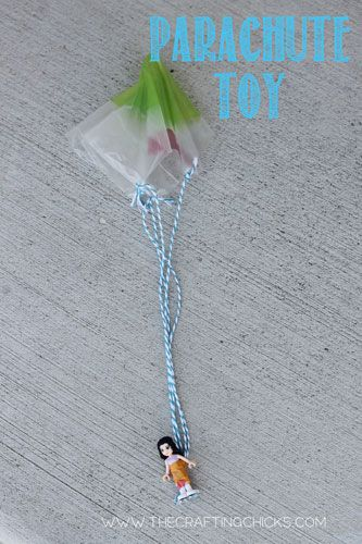 How to Make Your Own Parachute Toys