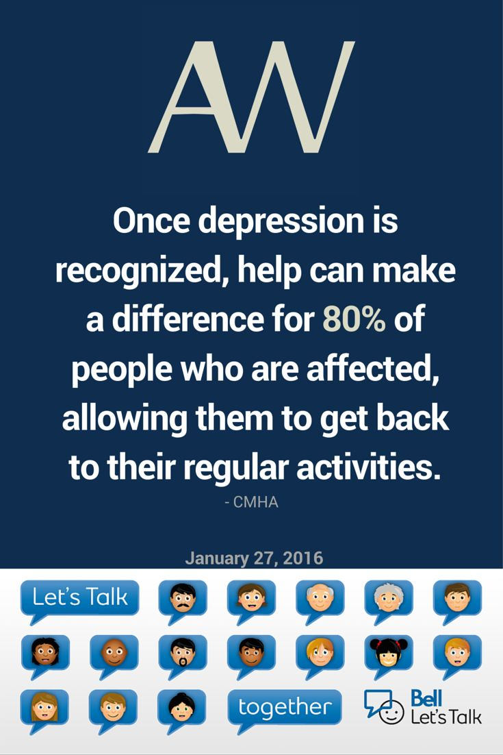 Let's work towards ending #stigma tomorrow on #BellLetsTalk day!