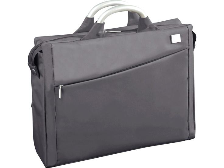 Fransız tasarım markası Lexon'dan gri Evrak/Laptop Çantası, Airline Document Bag Grey by Promart-Promotion