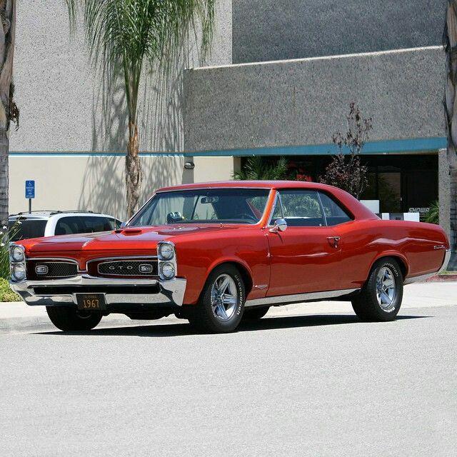 1967 GTO Pontiac #ClassicCars #Muscle #CTins #Pontiac