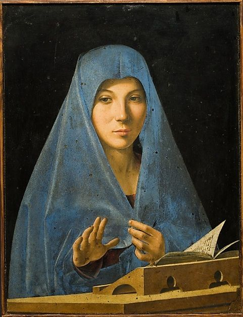 "Antonello da Messina - ""The Virgin Annunciate"""