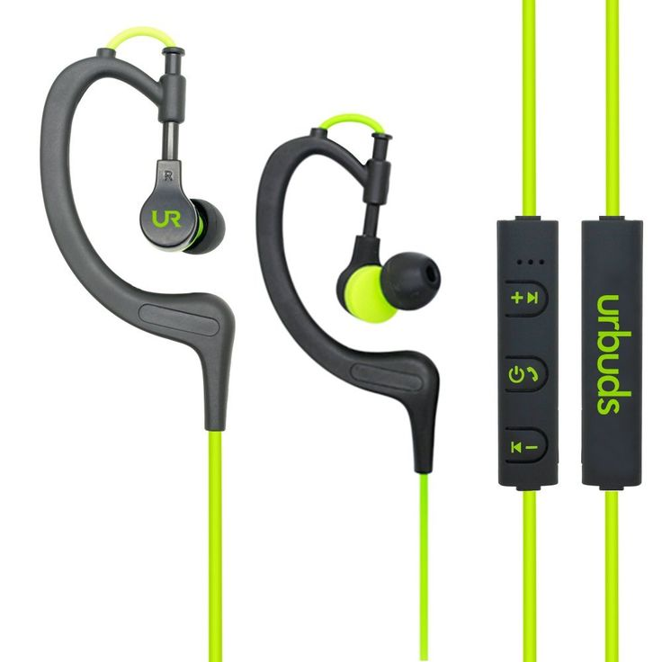 Urbuds Bluetooth Headphones 4.1 Stereo Earphones Wireless Sweatproof Sports Earbuds with Built-in Mic for iPhone and Smart Phones #cellphoneaccessories #cellphoneheadsets