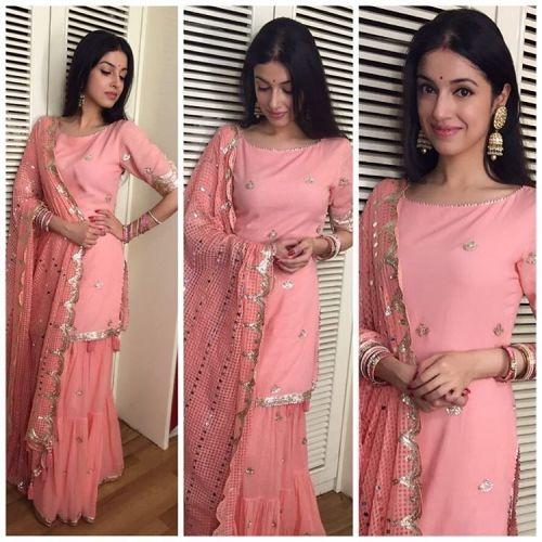 Divya Khosla Kumar in an Outfit by Sukriti and Aakriti