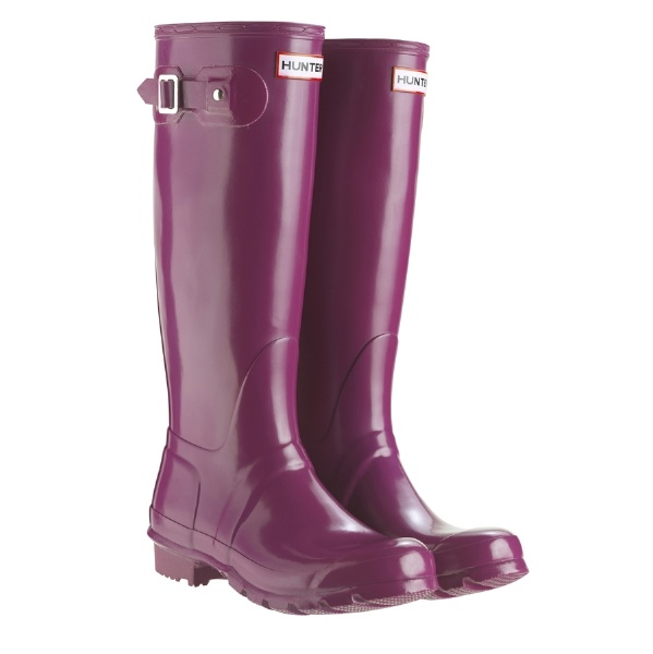 Hunter boots for my London wet weather