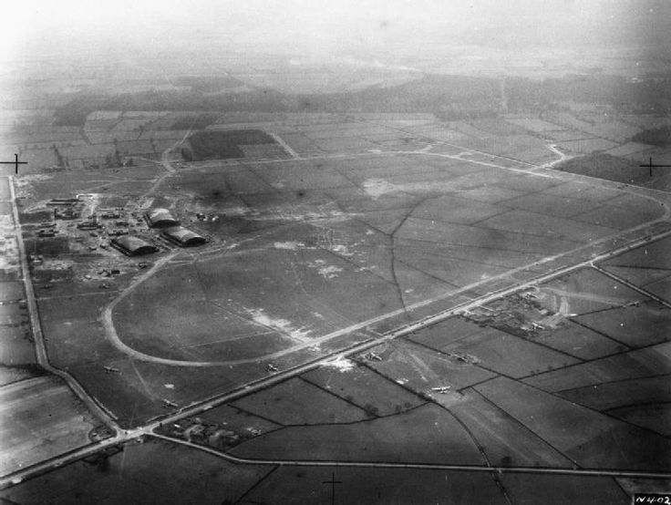 An arial photo of RAF Swinderby in Lincolnshire where my father was stationed during WW2. Many of the aircrew flying from here were Polish and ultimately their squadron was renamed 1586 and flew missions from Brindisi to support the Warsaw Uprising. A number are buried in Solymar Military Cemetery.