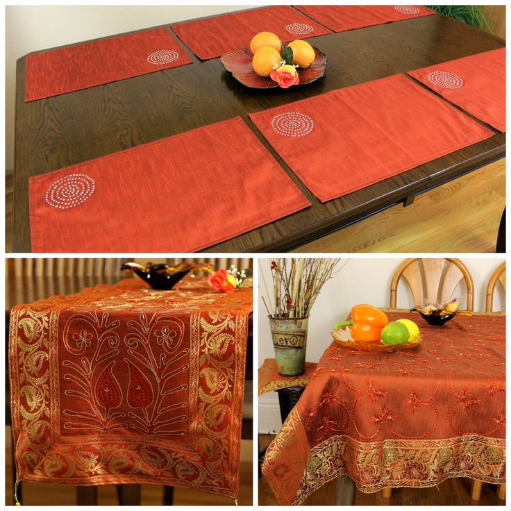 Orange Table Decor. Halloween Is A Fun Season For Costumes And Decorations:  Indoors U0026