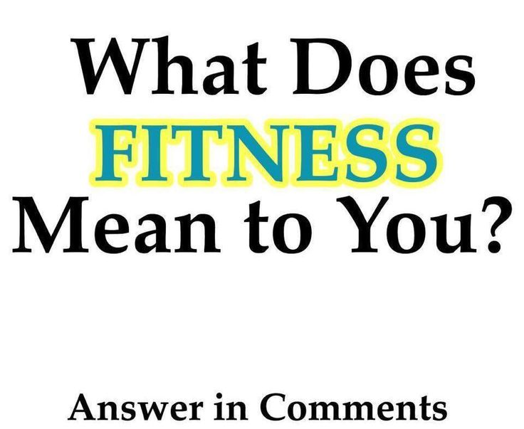 What does FITNESS mean to you??? Just like every individual is unique so will our own personal definition of fitness vary from person to person. In a sense it's like our own personal expression of what we value and tend to enjoy. I can't wait to see all the different answers we get! Answer in the comments below! - - #fitness #gym #gymlife #gymlifestyle #fitfam #workout #exercise #running #yoga #pilates #eatclean #IIFYM #cycling #hike #liftweights #lifting #getfit #motivation #mindset…